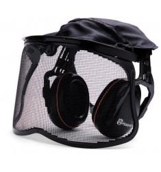 Viseira e protetor auricular