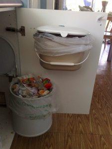 Resíduos para compostagem - cozinha