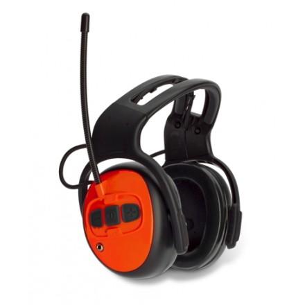 Protetor auricular com Rádio FM