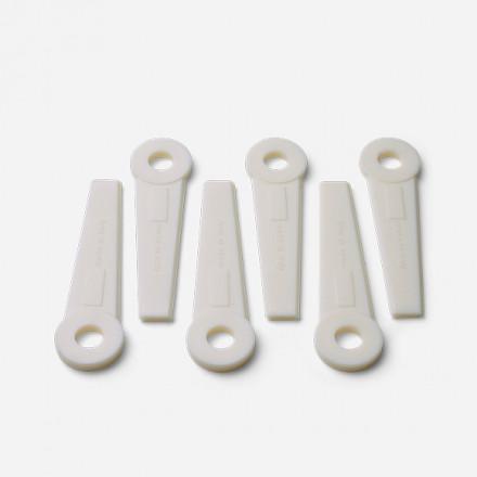 Lâminas plásticas extra de 300 mm