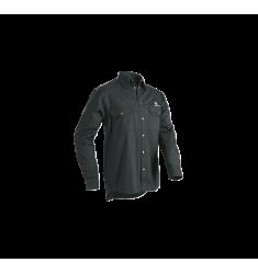 Camisa negra de manga comprida