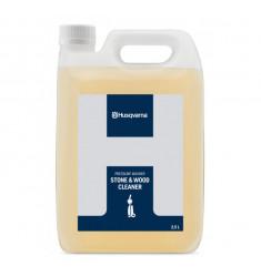 Detergente de limpeza de superfícies com pedra ou madeira