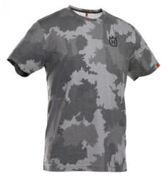 T-shirt Xplorer de manga curta estampagem camuflado