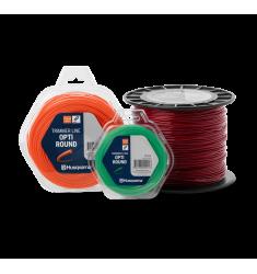 bobines de fios de corte Opti Round e Standard